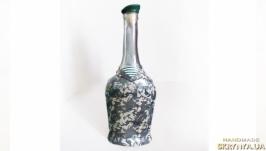 Декор бутылки ′Для пограничника′ в подарок мужчине пограничнику
