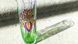Скляна ваза ′Ірис′