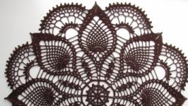 Серветка шоколадного кольору 2