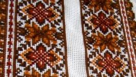 Вышиванка льняная ′Осень′