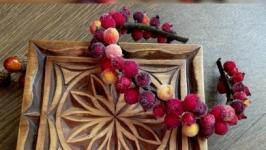 Ободок с сахарными ягодками