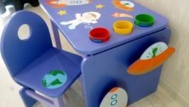 Дитячий столик і стільчик ′Космос′
