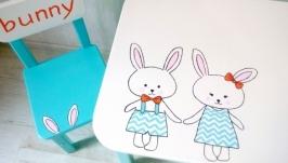 дитячий столик і стільчик ′Bunny′