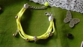 Жовтий браслет