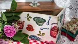 короб для кухонних дрібничок