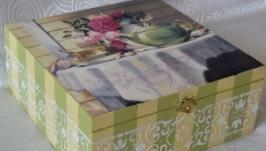 Коробка для чая большая