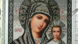 Казанская икона божьей матери(венчальная икона)