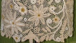 Платье вязаное крючком ′Карина′. Ирдандское кружево
