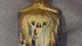 Декор бутылочки Пасха