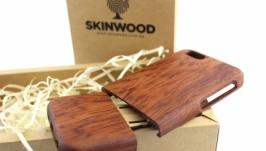 Деревянный раскладной чехол для iPhone 66s