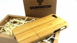 Деревянный раскладной чехол для iPhone 7