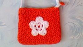 вязанная сумочка для женщин, девушек, девочек.