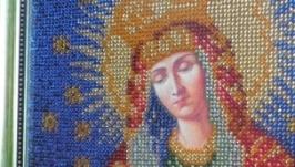 Икона вышыта бисером ′Остробрамская′
