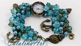 Часы ′Морская пена′