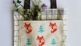 Еко-торбинка з лисичками