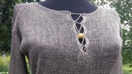 Плаття з натурального льону ′Класика′