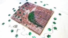 Блокнот ручной работы ′ Замок′