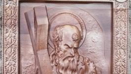 Икона резная ′Святой апостол Андрей′