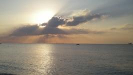 Фото картина - Море рассвет