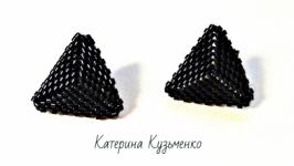Сережки-трикутники ′Мінімалізм′