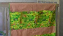 Органайзер кармашек для детской кроватки