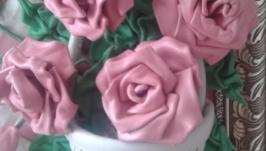 Картины из кожи Розы