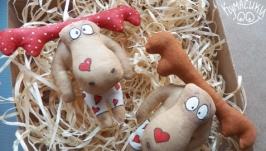 Кавова іграшка Шалений лось