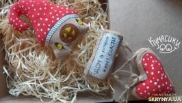 Кавова іграшка Дім Дом Домик