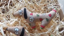 Кавова   іграшка Пес Собака такса