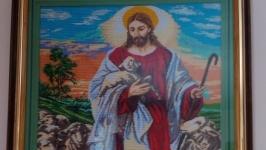 Ікона ′Ісус пасе ягнят′