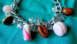 Браслет ′Розовая сладкоежка′