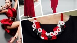Комплект ′Червоне, чорне та біле′