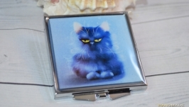 Зеркало компактное Котик