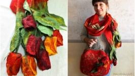 ′Пристрасть...  і тюльпани′ набір валяний