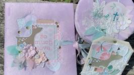 Альбом та мамині скарби для дівчинки