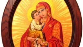 Икона Богородица Почаевская