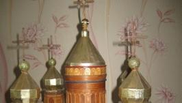 Макет храму з сірників. Храм Христа Спасителя.