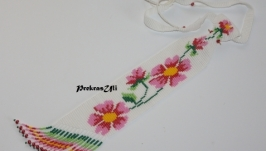 Жіноча краватка ′Рожева квітка′