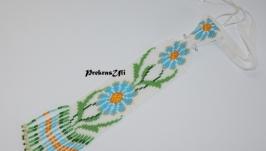 Жіноча краватка ′Небесна квітка′
