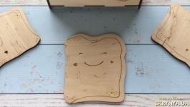 Деревянные костеры (подставки)