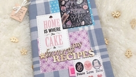 Кулинарная книга, книга рецептов, cookbook, книга для рецептів