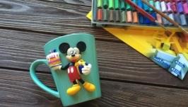 Чашка с Микки Маусом