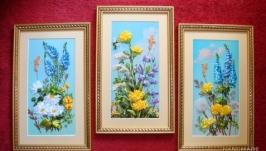 Новый триптих ′Полевые цветы′