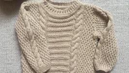 Вязаний светрик