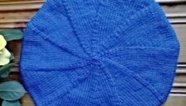 Голубой беретик