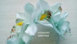 Обруч ′Ніжна орхідея′