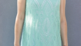 Нарядное льняное платье