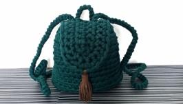 Рюкзак вязаный