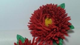 резинка для волос Хризантема