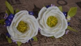 Школьная резинка ′Белый цветок′